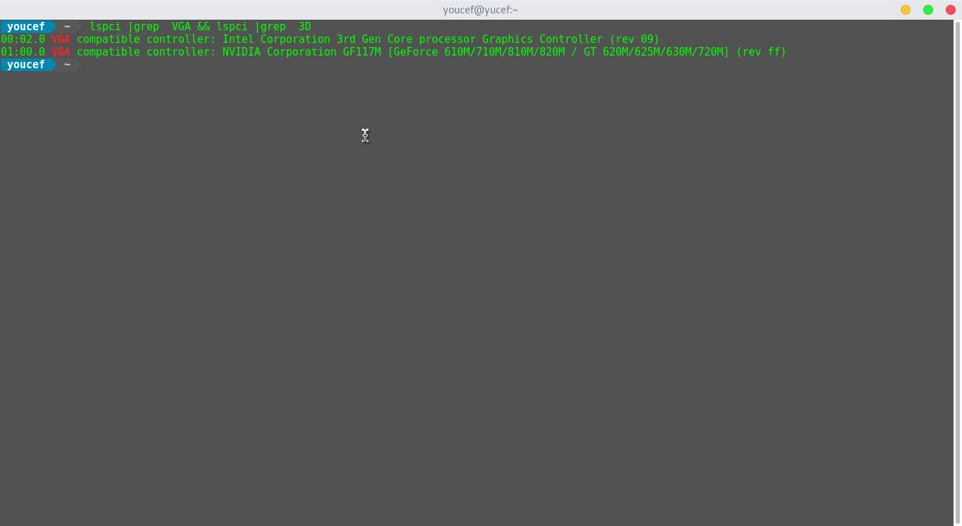 تثبيت تعريف كرت شاشة nvidia هجين على فيدورا 24 - مجتمع لينكس العربي