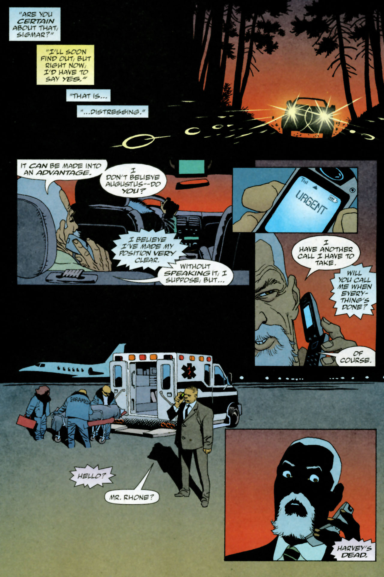 Read online 100 Bullets comic -  Issue #84 - 10