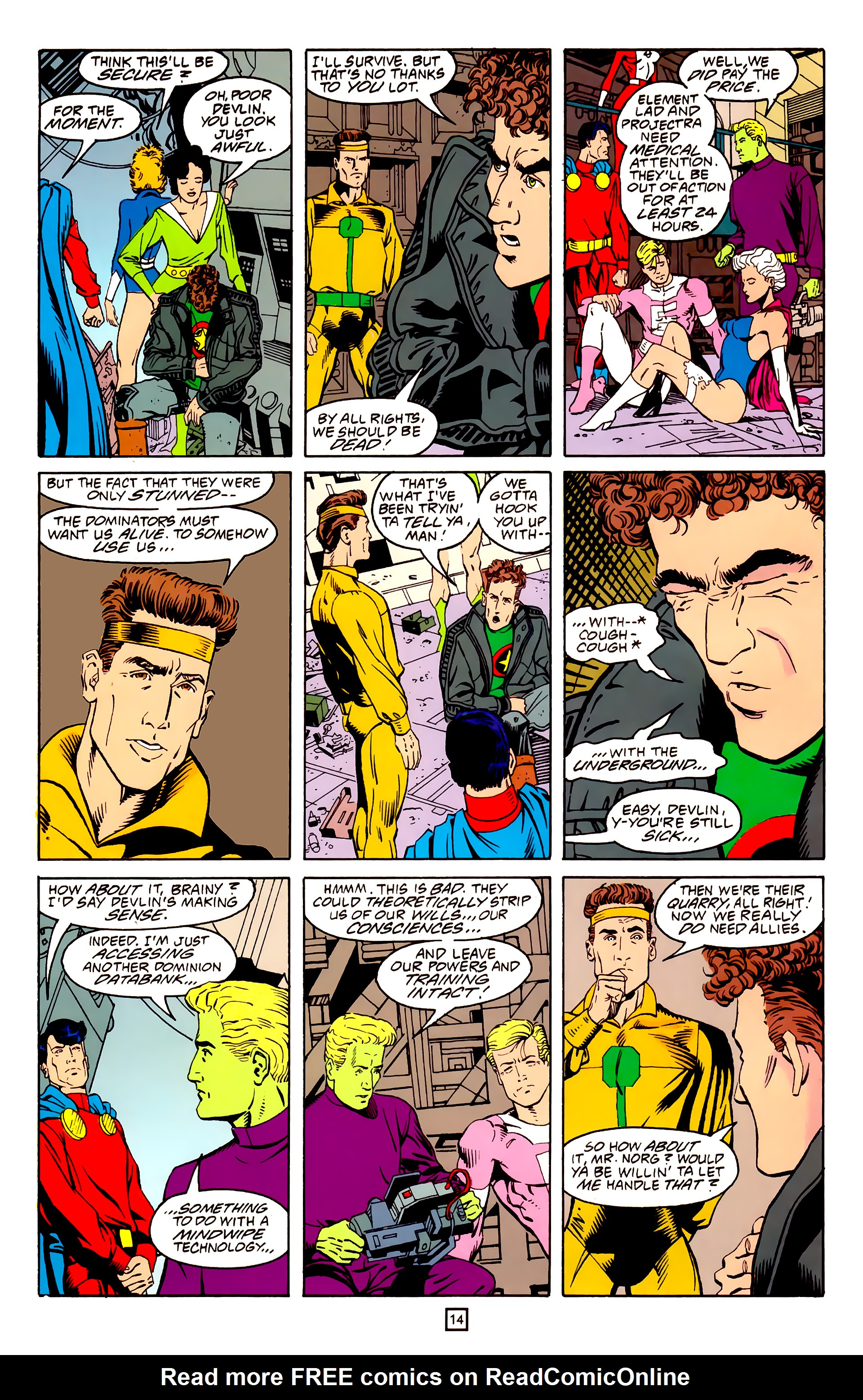 Legion of Super-Heroes (1989) 25 Page 14