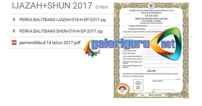 Download Blangko Ijazah Plus Shun Terbaru 2017 Ops