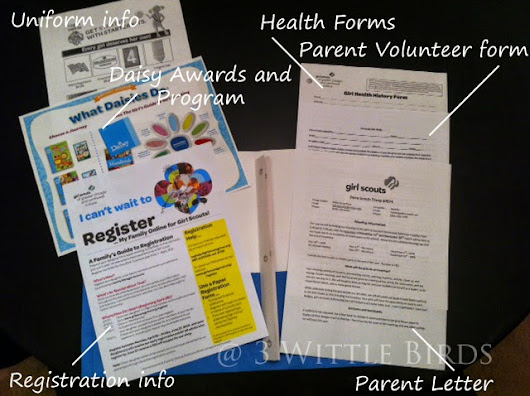 Girl Scout Troop Leading: Parent Meeting Planning