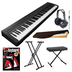 Yamaha Key Digital Piano with Knox X Style Keyboard Bench