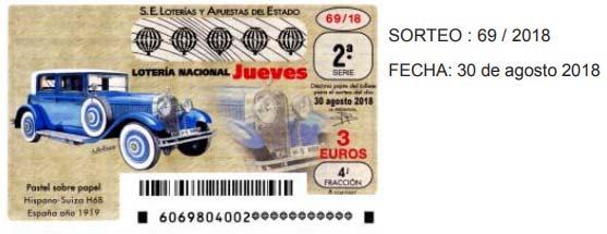 loteria nacional jueves 30 agosto 2018