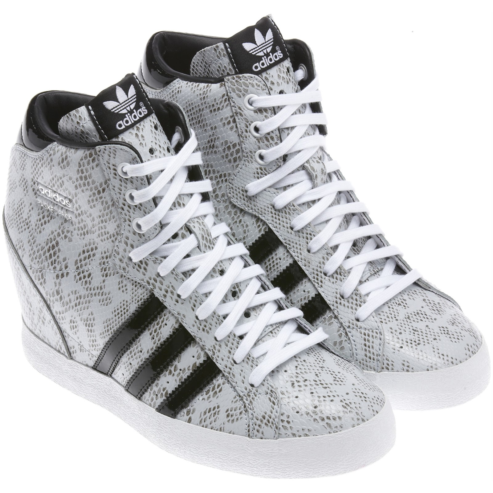 Adidas Wedge-Heeled Sneakers - cars & life | cars fashion ...