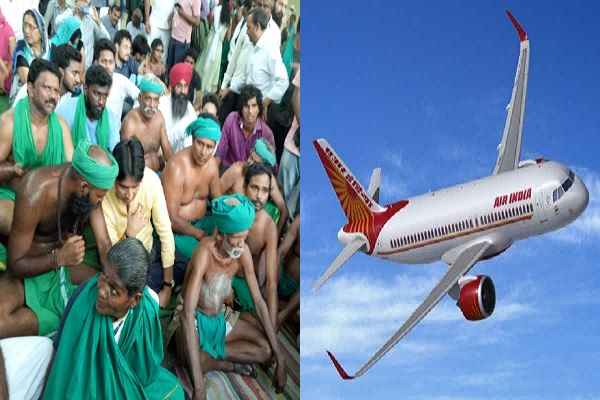 tamil-nadu-farmer-flown-after-ending-dharna-at-jantar-mantar