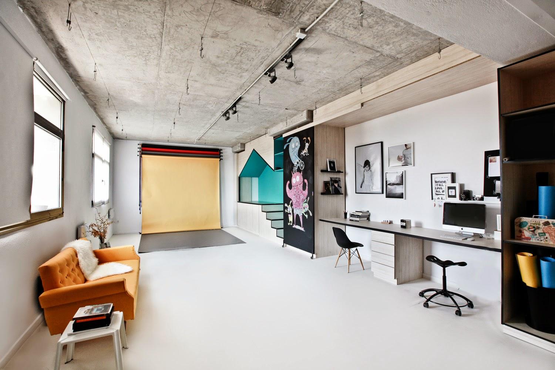 studio interior creative designs york portrait designer input space artist eight designers dezeen estudio playhouse graphic un modern children room