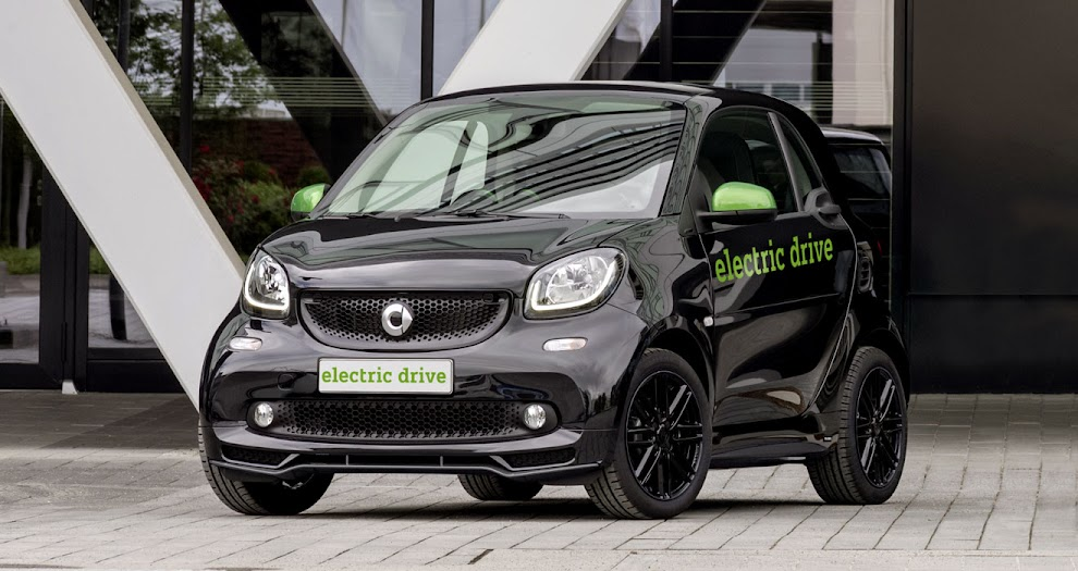 4th-generation Smart ForTwo EV prototype