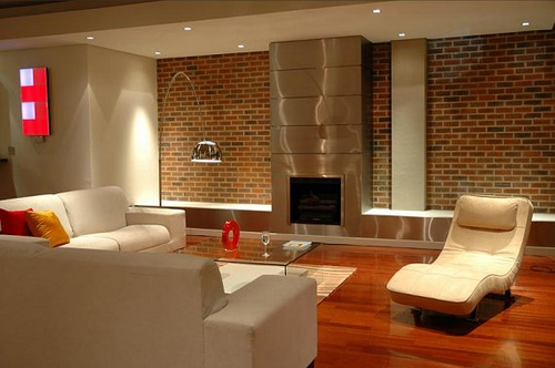 be inspired industrial glamour exposed brick panels brick interior - Brick Design Wall