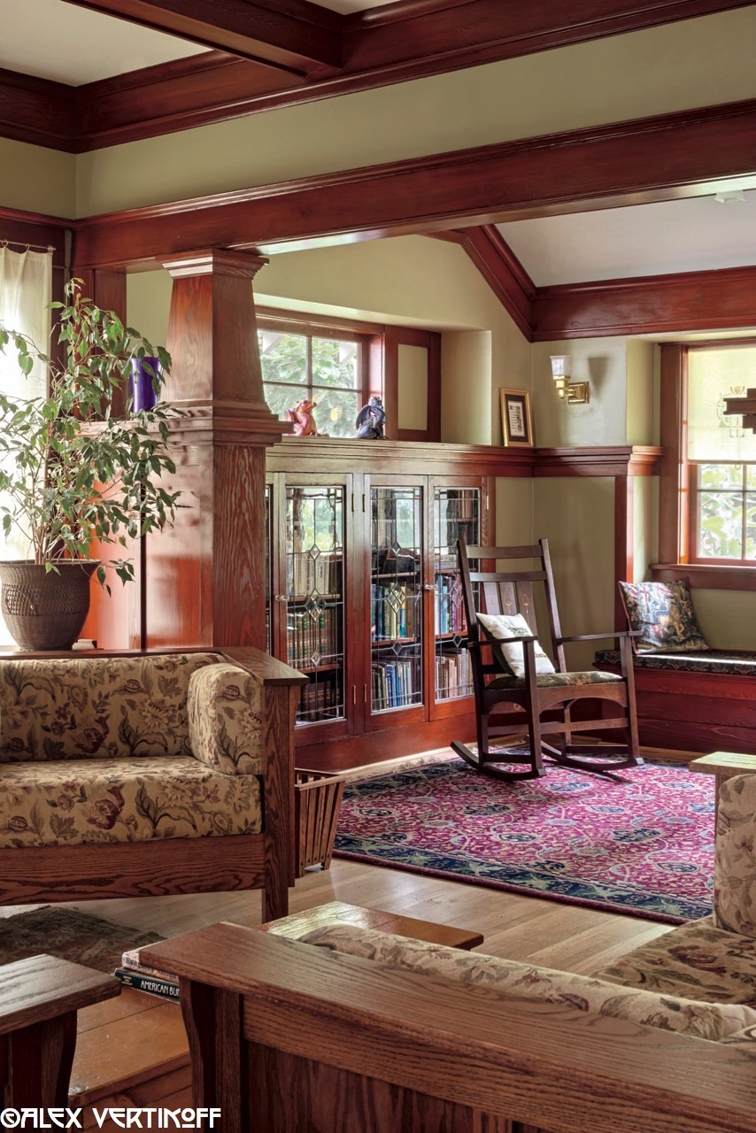 Laurelhurst craftsman bungalow alex vertikoff 39 s photos - Craftsman style house interior ...