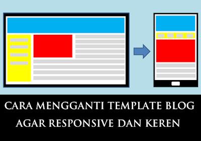 Cara Mengganti Tampilan / Template Blog Agar Tampil Responsive dan Keren