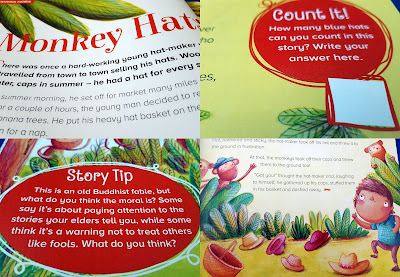 Storytime magazine review inside pages