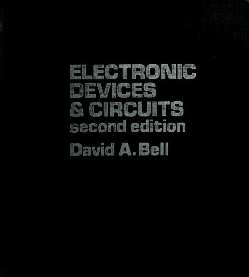 David a bell electronic devices and circuits pdf