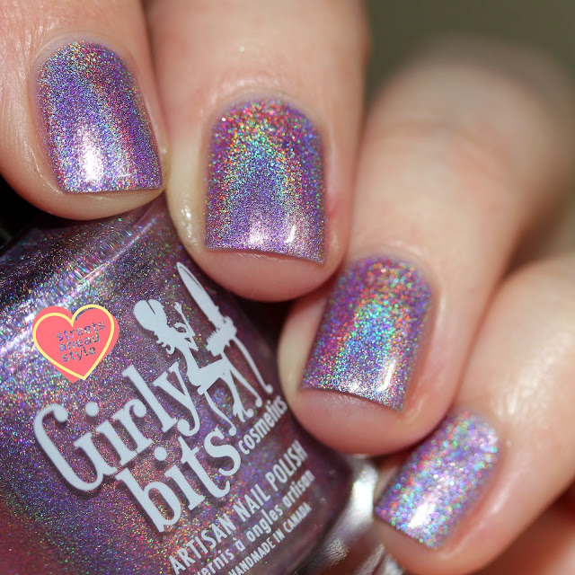 Girly Bits Budding Romance swatch by Streets Ahead Style