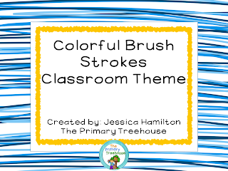 https://www.teacherspayteachers.com/Product/Colorful-Brush-Strokes-Classroom-Theme-Decor-EDITABLE-1291639