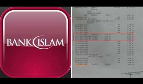 HATI-HATI JIKA ADA AKAUN BANK ISLAM!! lesap rm 4600 dalam sekelip mata-anak mangsa
