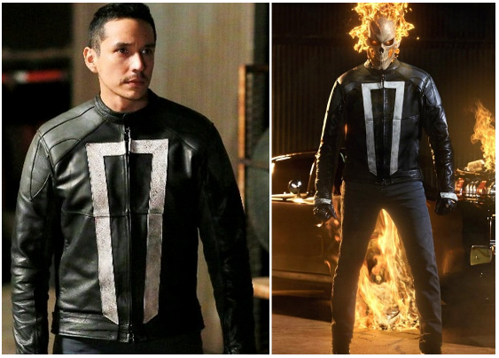 Jaket Ghost Rider Terbaru Reyes Agent of Shield AOS