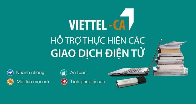 Thông báo triển khai gói cước dịch vụ Chữ Ký Số Viettel Tích Hợp dịch vụ VBHXH
