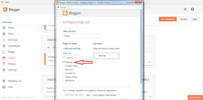 How To Create HTML Sitemap Page in Blogger Blog [ Latest Edition ]