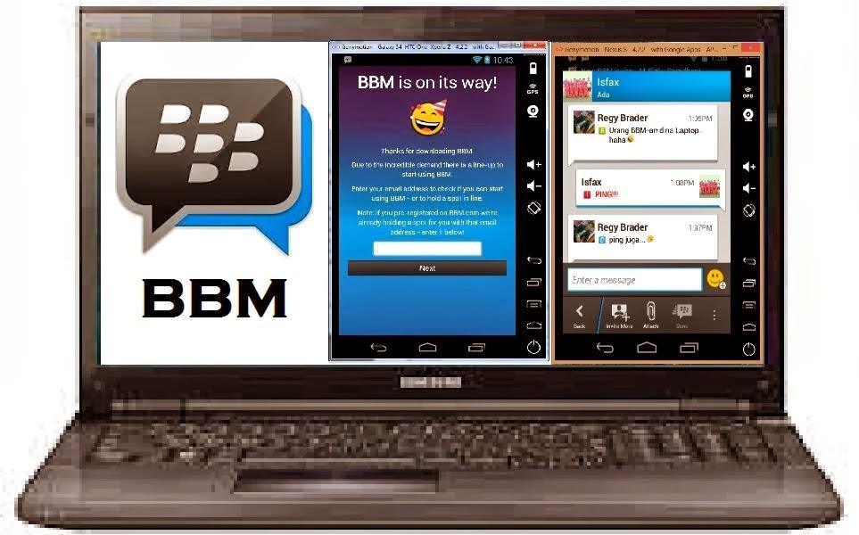 Cara Install BBM di PC/Laptop dengan Bluestacks di Windows 7, 8 Read