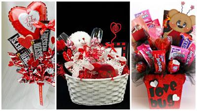 C mo hacer una canasta de dulces para regalar en san - Como hacer adornos de san valentin ...
