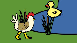 short stories - The Cock And The Hen