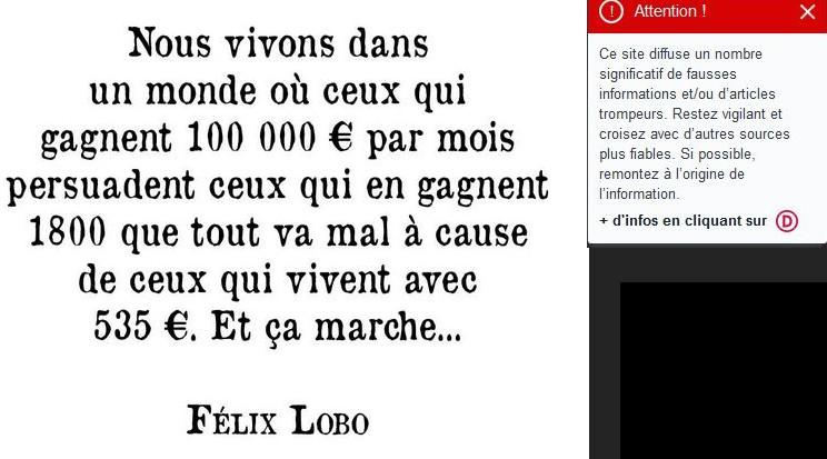 Le Blog De Pierre Ratcliffe Une Citation De Felix Lobo M