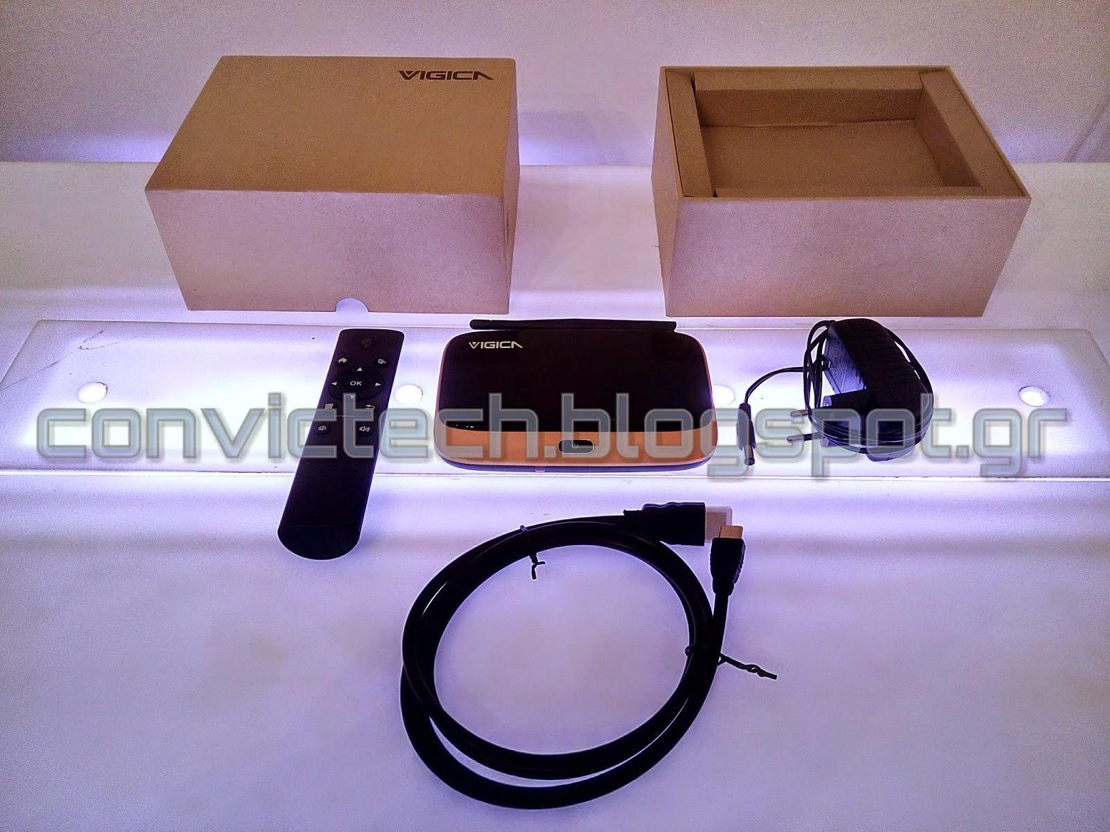 Android TV Box, Smart IPTV Box: Review of the Vigica V3 RK3288 Quad