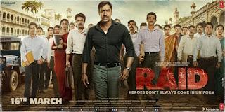 4th poster of Raid