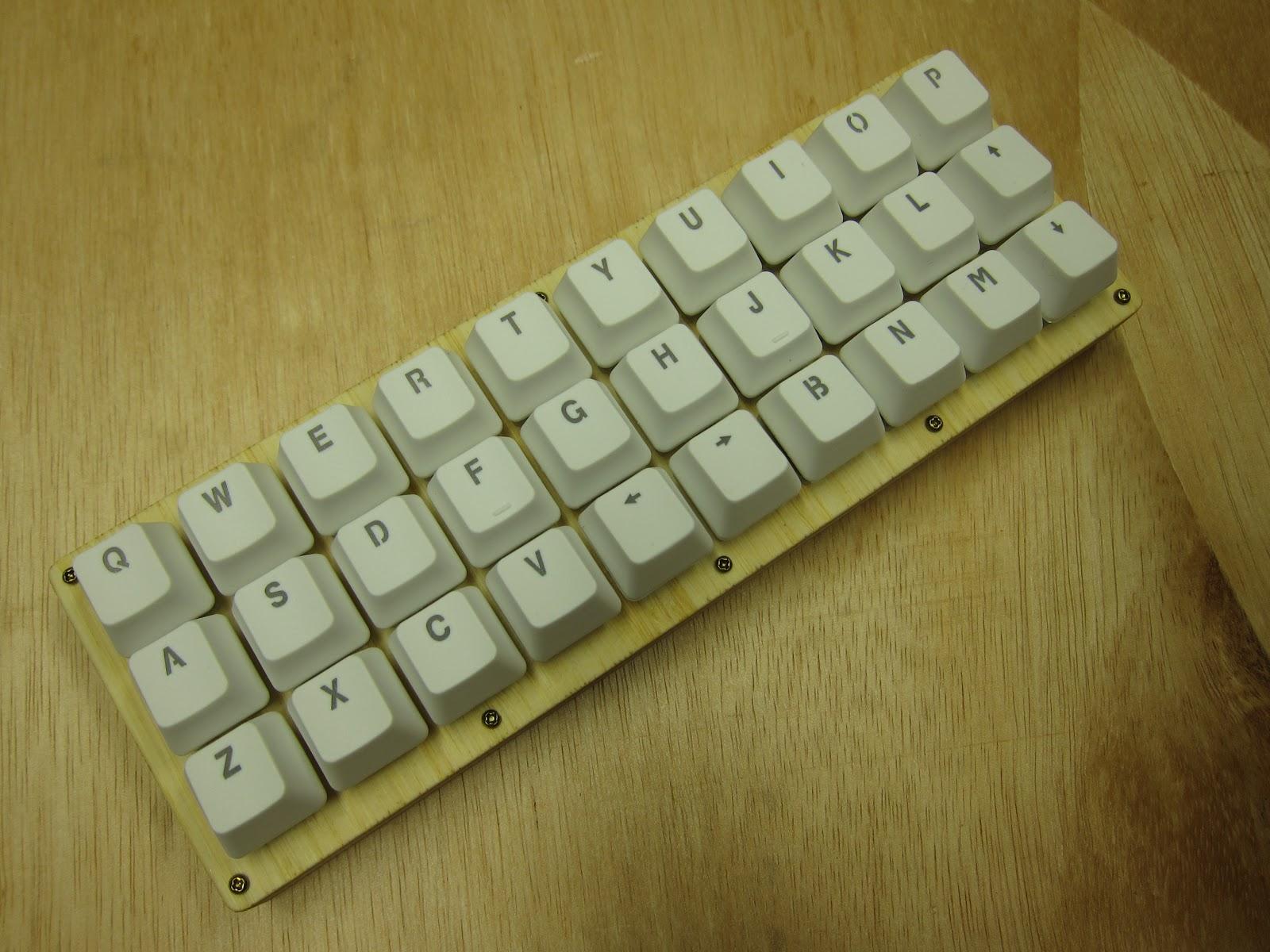 40% Keyboards: Gherkin Wood