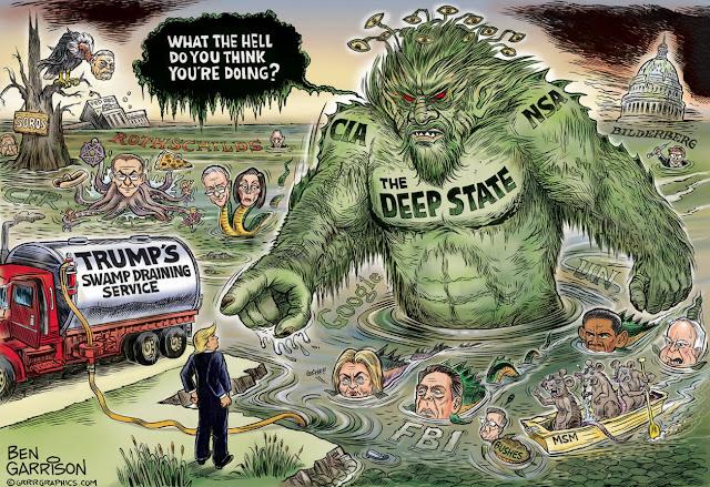 Το βαθύ κράτος σχεδιάζει την ανατροπή του Trump
