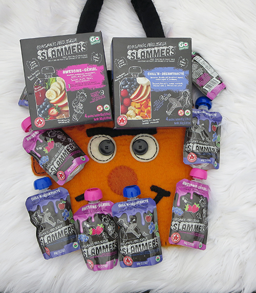 Slammers Fruit Pouches are a Great Halloween Treat ~ #SlammersSnacks #Review, Awesome Slammers and Chill'N Slammers, two most popular flavour