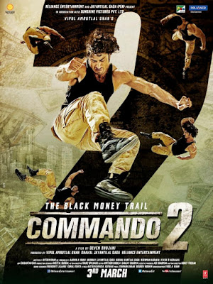Commando 2 2017 Hindi Official Trailer 720p HD