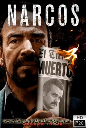 Narcos Temporada 3 [720p] [Latino] [MEGA]