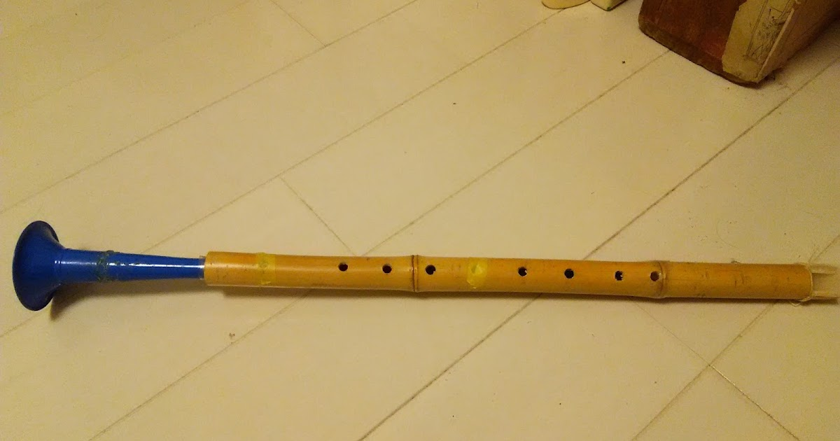 how to make a bamboo saxophone