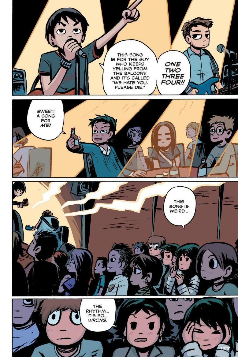 Read online Scott Pilgrim comic -  Issue #1 - 116