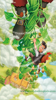 Jack And The Beanstalk English Short Stories For Kids
