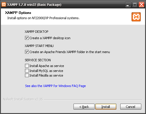 Instalando Xampp en Windows