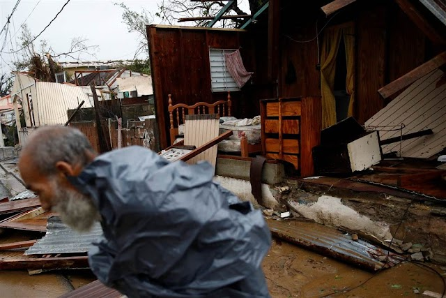 #HurricaneMaria : All Power Out as Maria Crushes Puerto Rico