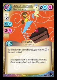 My Little Pony Cheese Sandwich, Dive Instructor High Magic CCG Card