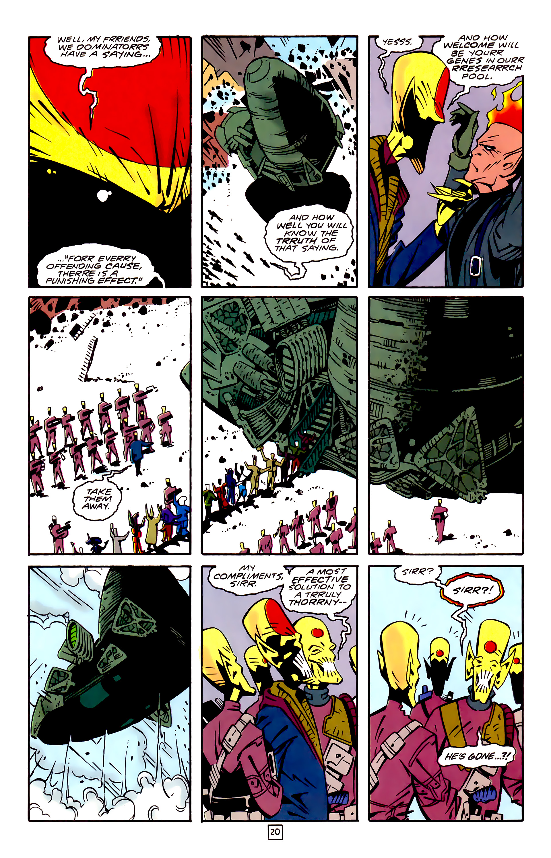 Legion of Super-Heroes (1989) 32 Page 20