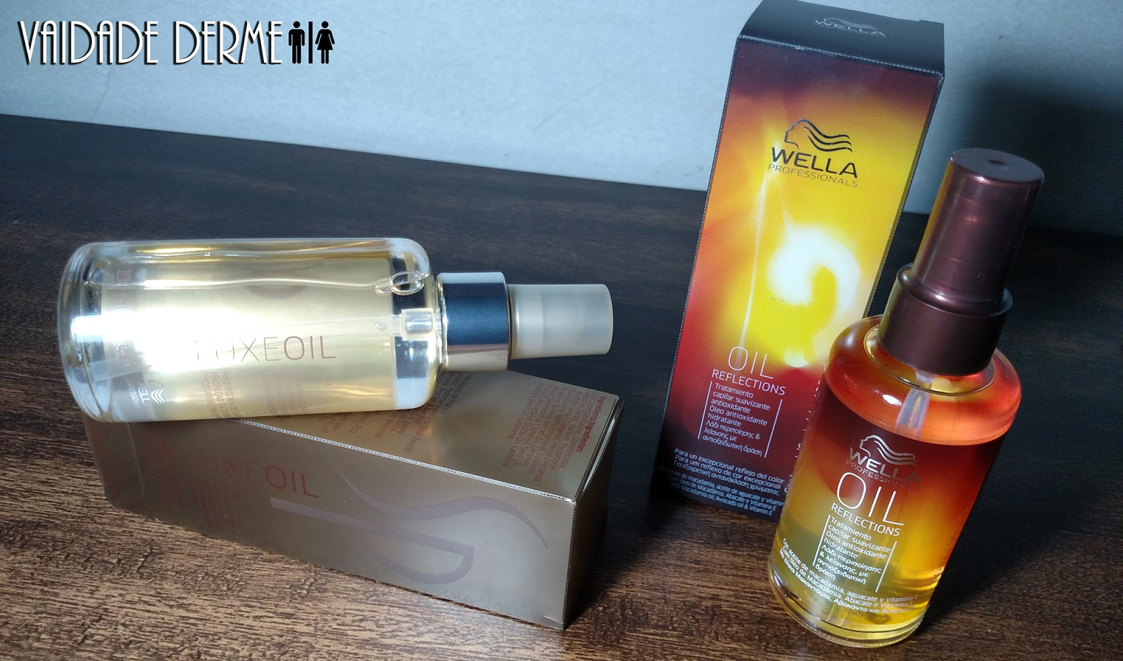 Wella Professionals Oil Reflections e SP System Professional Luxe Oil