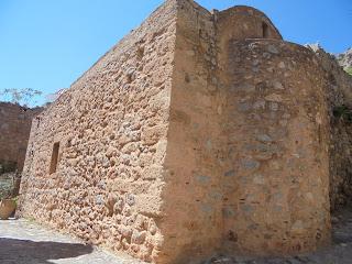 ο ναός του αγίου Ανδρέα στη Μονεμβασιά