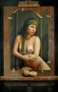 Mujeres Semidesnudas Pinturas Surrealistas