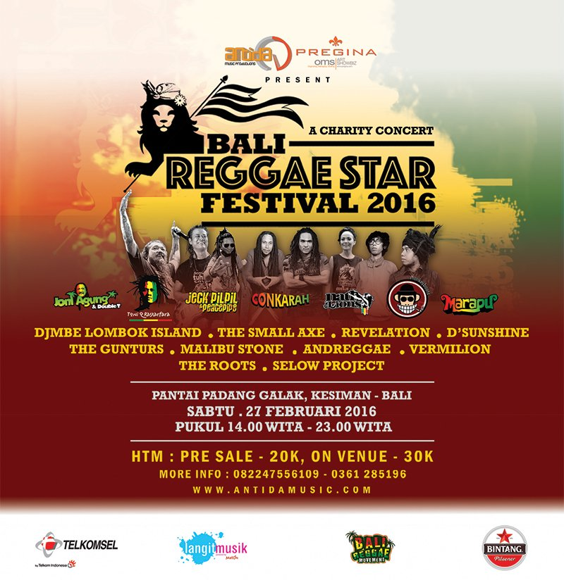 Bali Reggae Star Festival 2016 [image by @mave_magz]