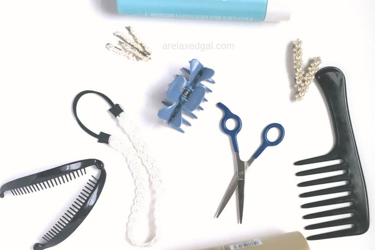 Shampooing your hair without it tangling | arelaxedgal.com