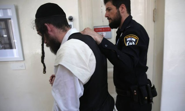 Judeus ultraortodoxos  presos por suspeita de abuso sexual