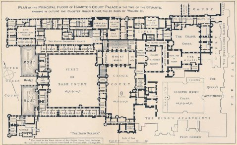 Houses Of State Hampton Court Palace Floor Plans