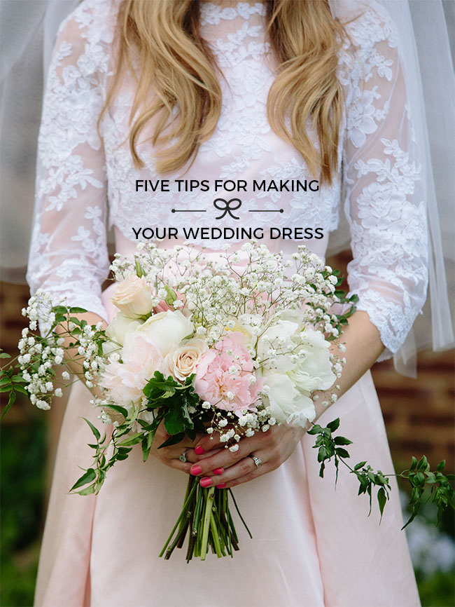 Five Tips For Making Your Wedding Dress Tilly And The Ons
