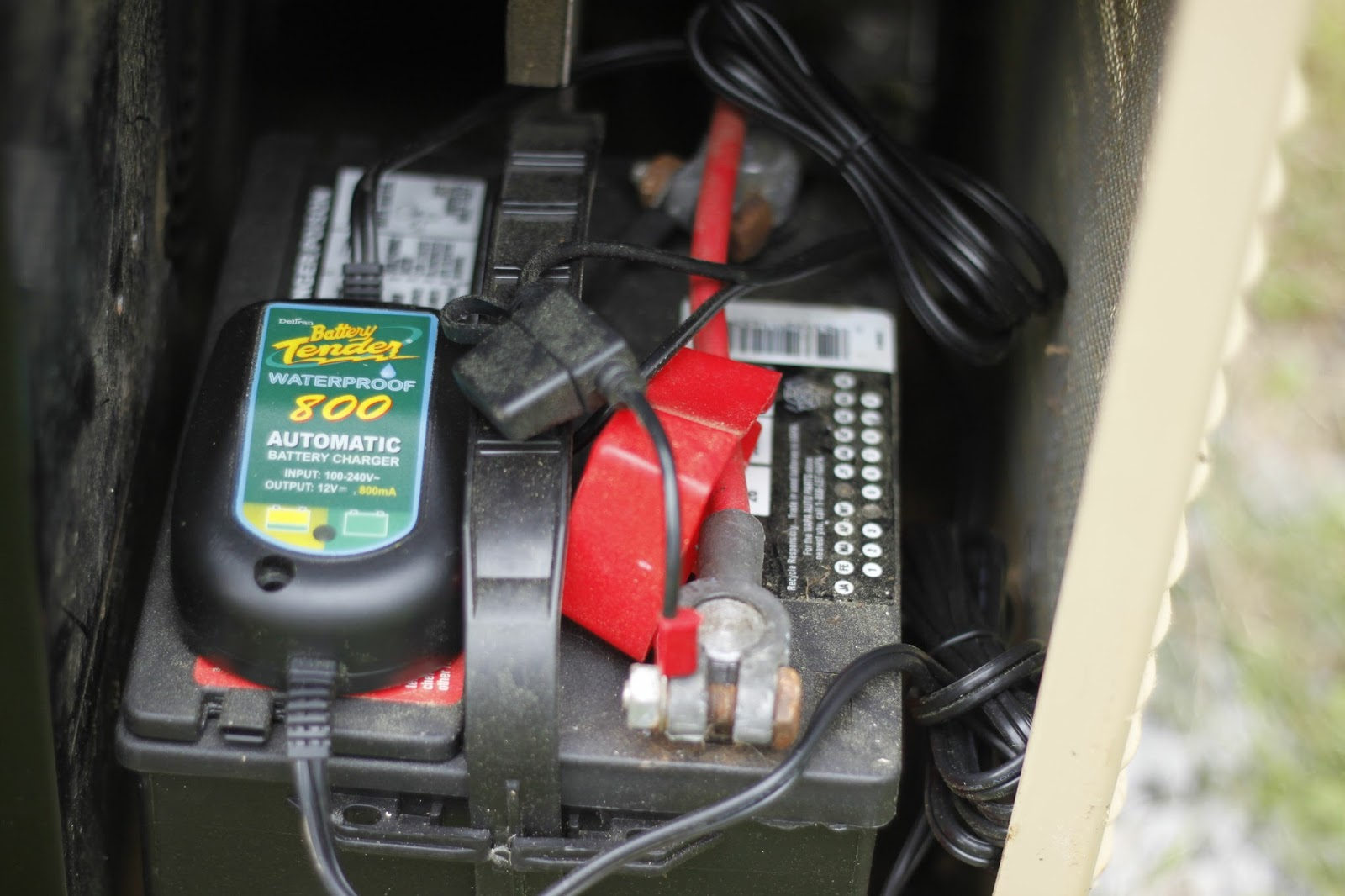 FET Tricks: Substitue Battery Charger for Generac Generator