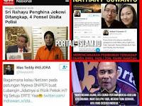 Hina Jokowi Langsung Ditangkap, Sementara Yang Ancam Bunuh Bebas Melenggang